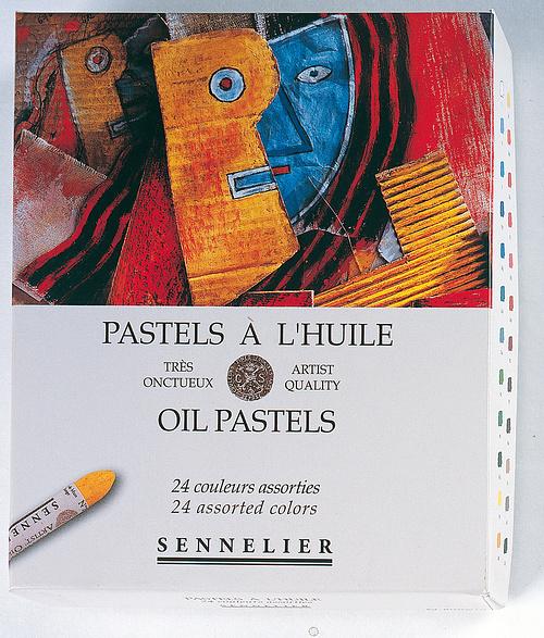 Pastelli a olio - Scatole di cartone n132520-240carton24universels
