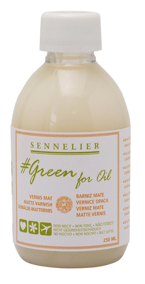 vernice opaca Green for Oil 0