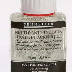 Agente Pulente per pennelli olio e acrilico