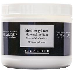 Medium gel opaco
